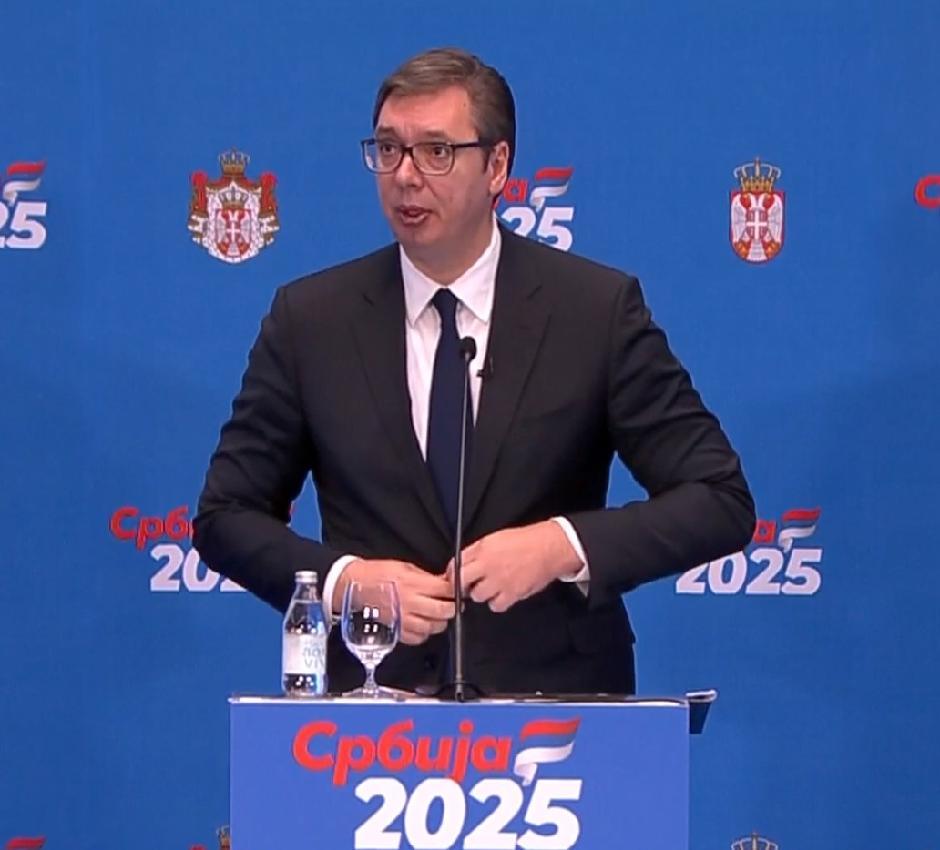 Vučić obećava plate od 900 evra za šest godina, Foto: Printscreen