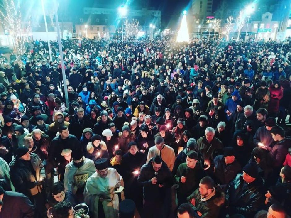 Protesti u Nikšiću, Foto: Privatna arhiva