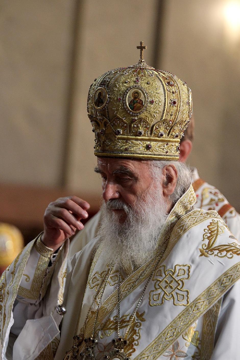 Patrijarh Irinej, Foto: ATA Images/Antonio Ahel