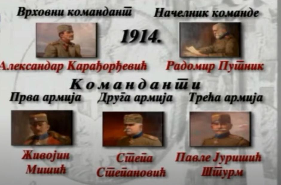 Srpska komanda u Prvom svetskom ratu