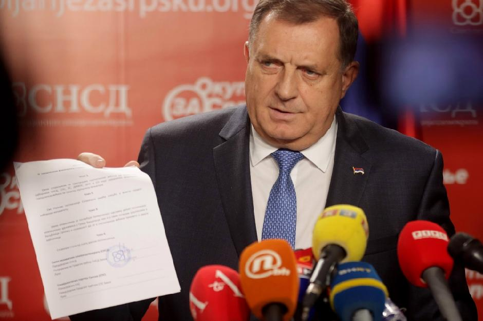 Milorad Dodik, FOTO: ATA Images/Antonio Ahel