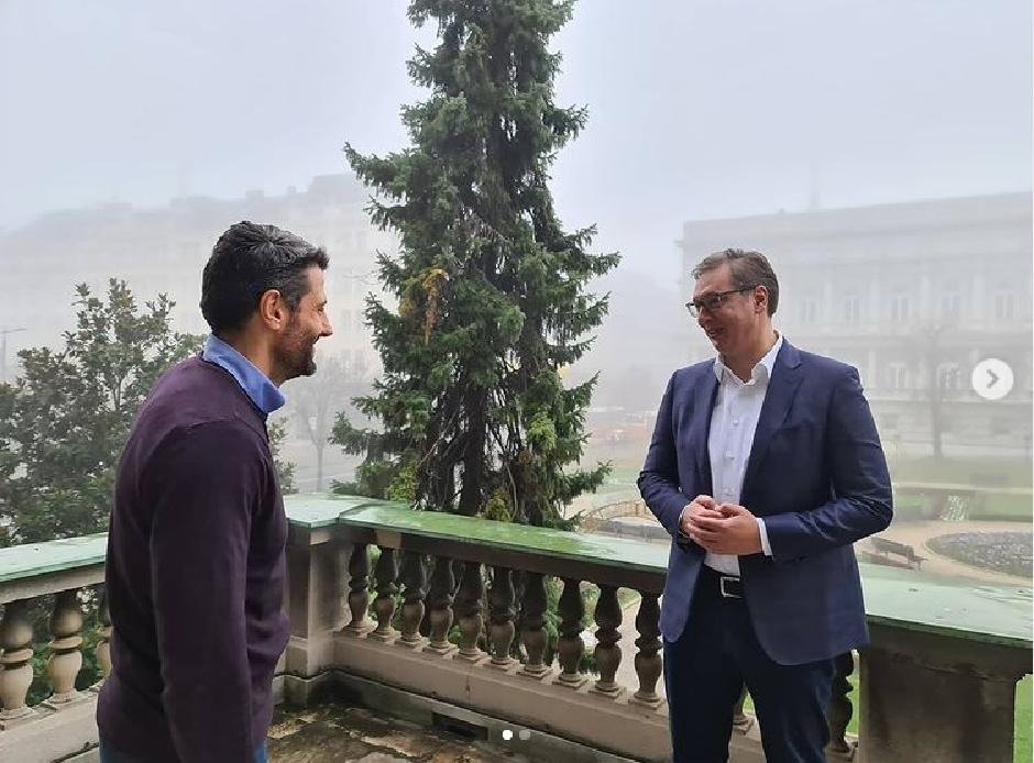 Šapiću nije pomoglo slikanje i druženje sa Vučićem FOTO: Printscreen/Instagram