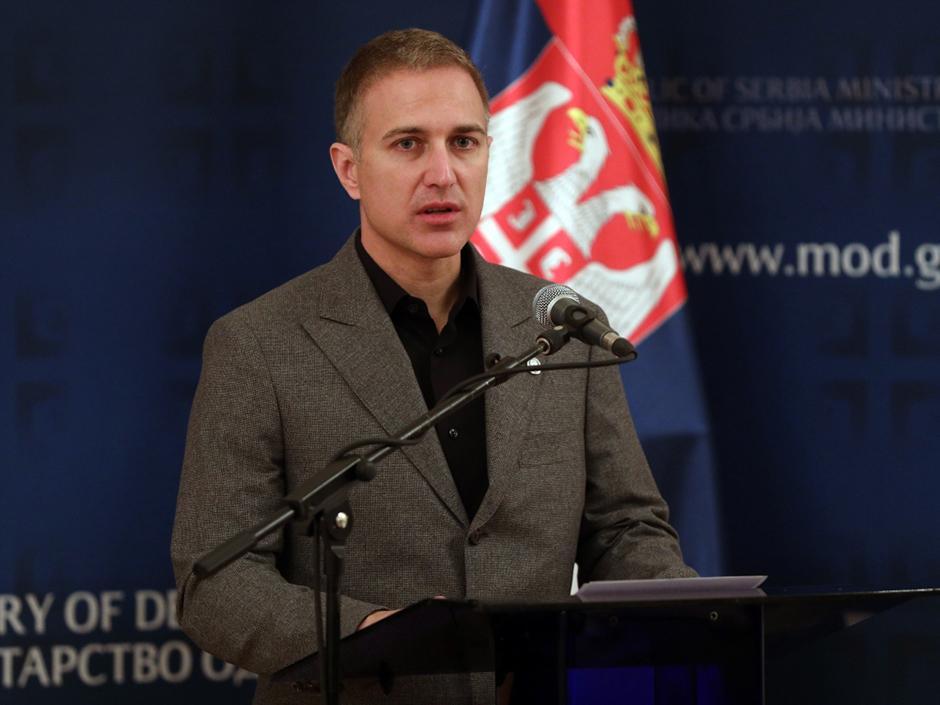 Nebojša Stefanović FOTO: ATA Images