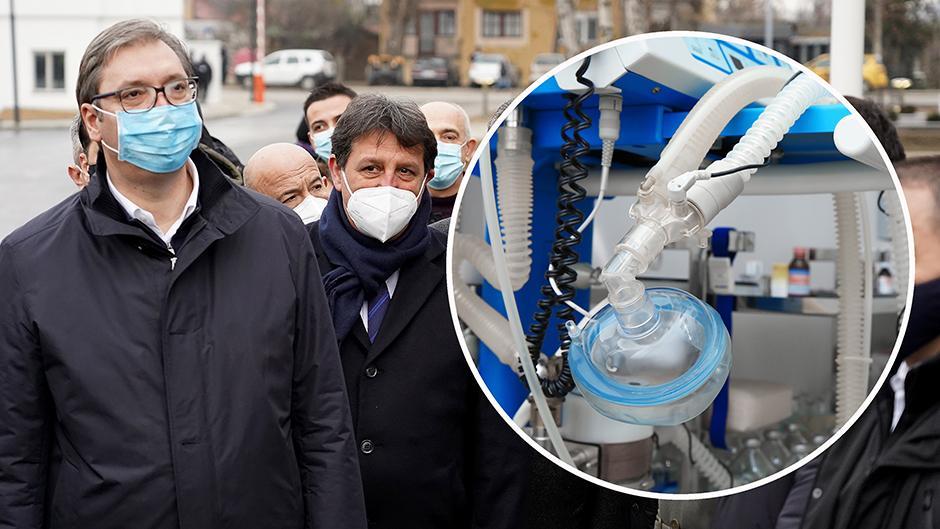 Šta radi Gašić osim što čuva respiratore, kako je rekao Vučić FOTO: ATA Images
