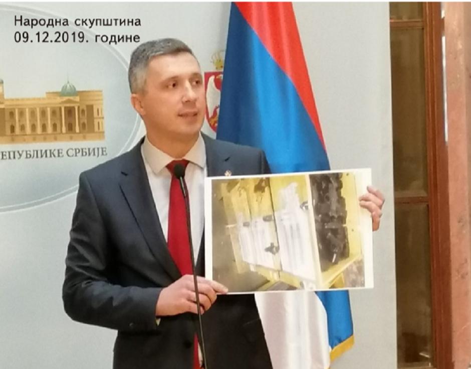 Boško Obradović je pre godinu dana postavio pitanja Nebojši Stefanoviću, na koja nije dobio odgovor FOTO: Printscreen