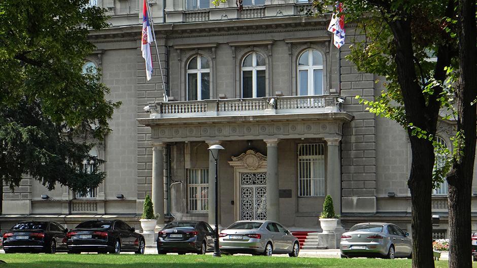 Zgrada Predsedništva na Andrićevom vencu FOTO: Milica Vučković