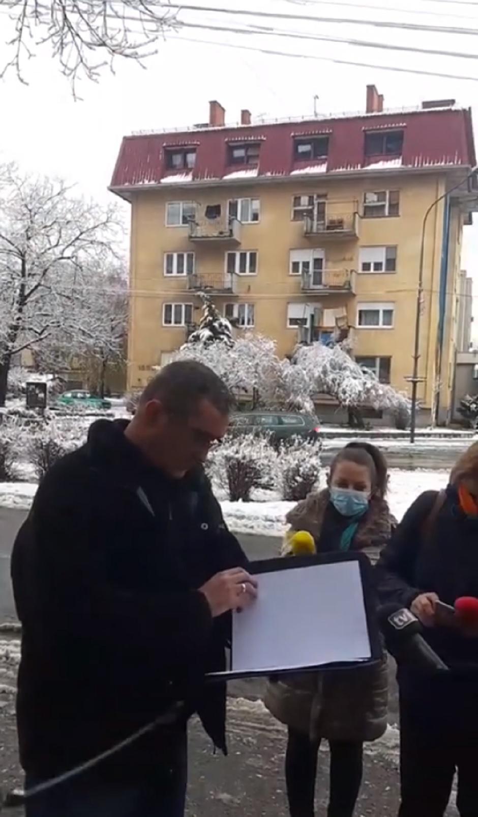 Dr Ristović vraća orden Vučiću FOTO: Printscreen