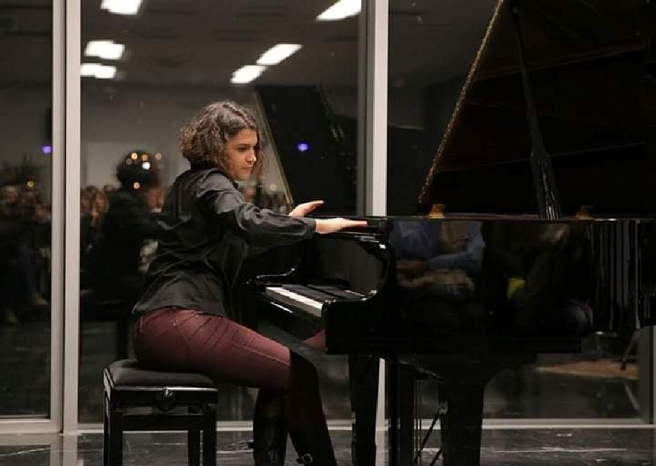 Jovana sa koncerta klasične muzike, Foto: Direktno.rs