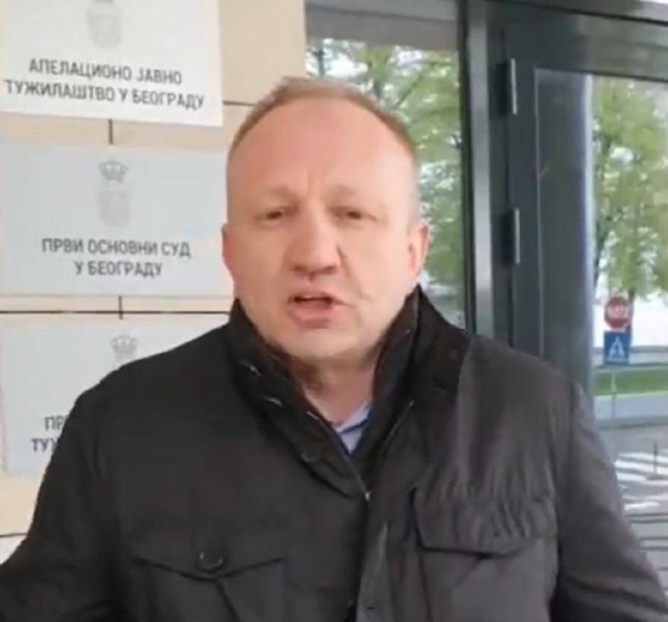 Dragan Đilas je pružao podršku Jovani Popović i ukazivao na propuste i skandalozan rad tužilaštva, Printscreen