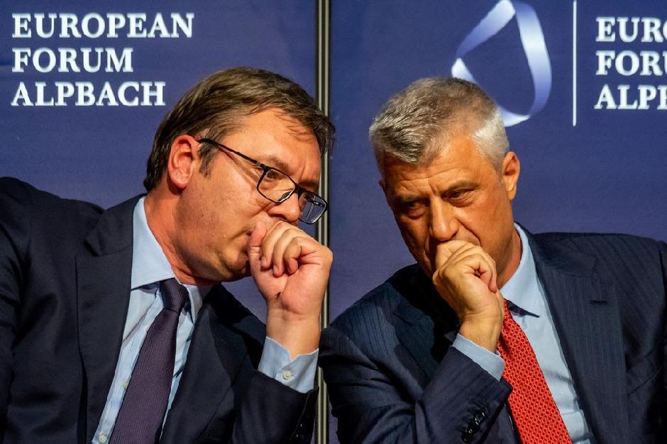 Vučić i Tači