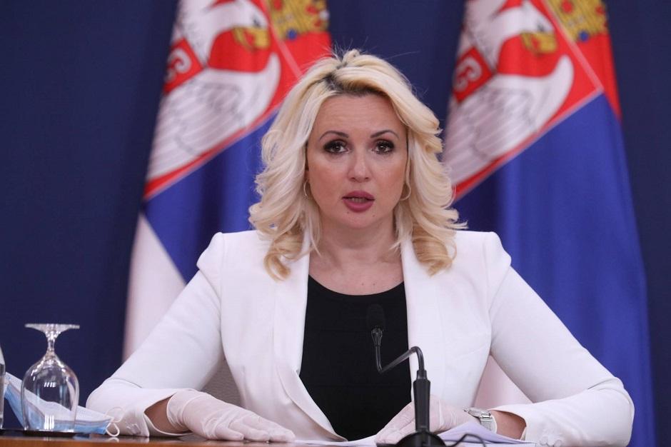 Darija Kisić Tepavčević FOTO: Beta