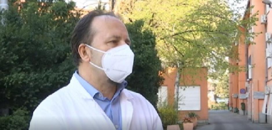 Lekari tzraže smenu direktora KBC Zvezdara Petra Svorcana FOTO: Screenshot