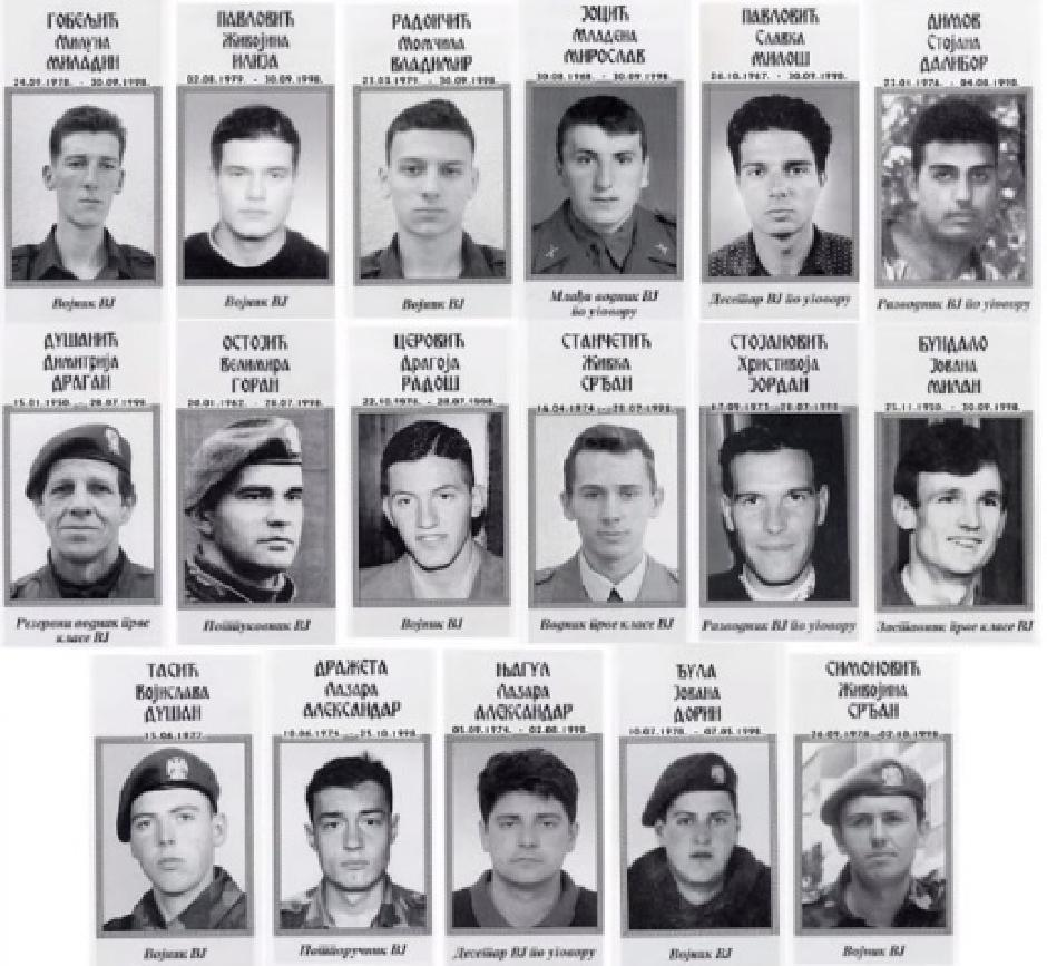 Oni su na Košarama dali živote za Srbiju