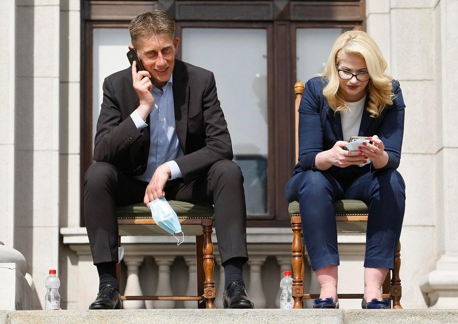 Aleksandar Martinović i Sandra Božić, Foto: Beta