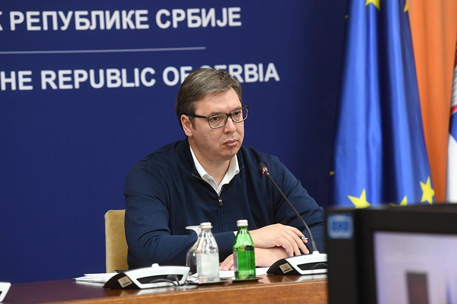 Aleksandar Vučić FOTO: Beta/Dimitrije Goll