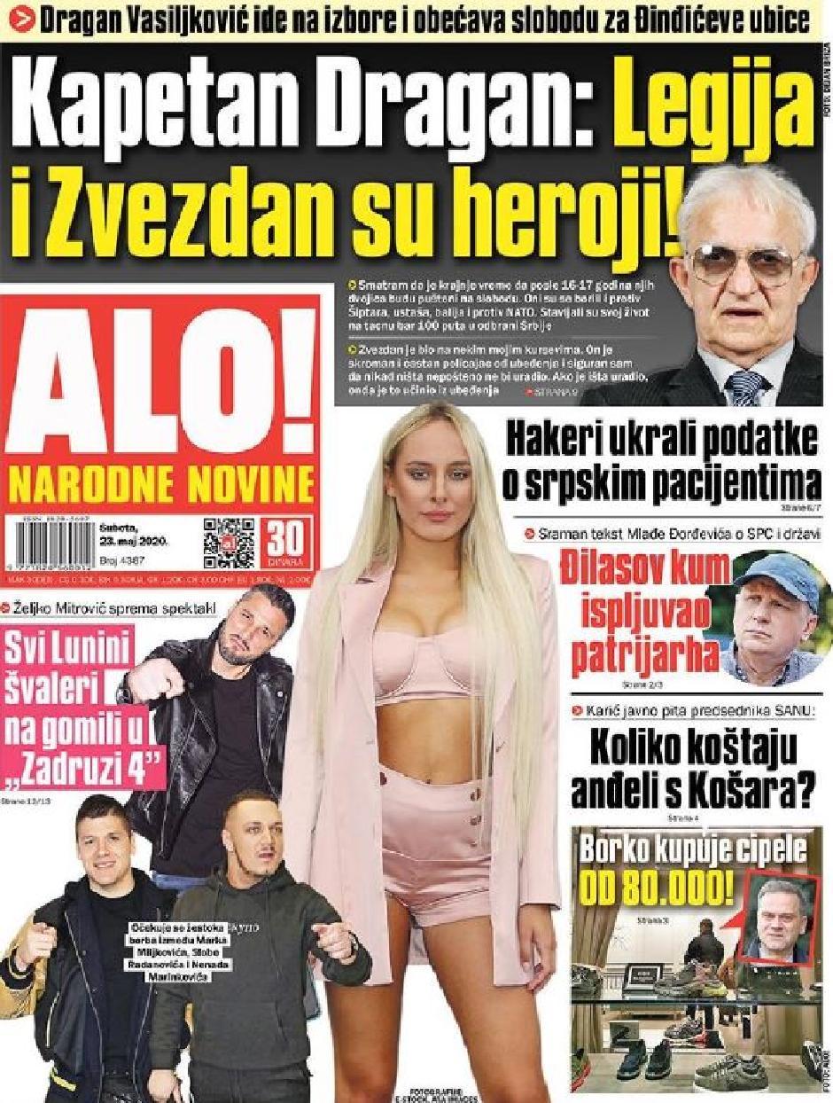 Naslovna strana FOTO: Printscreen
