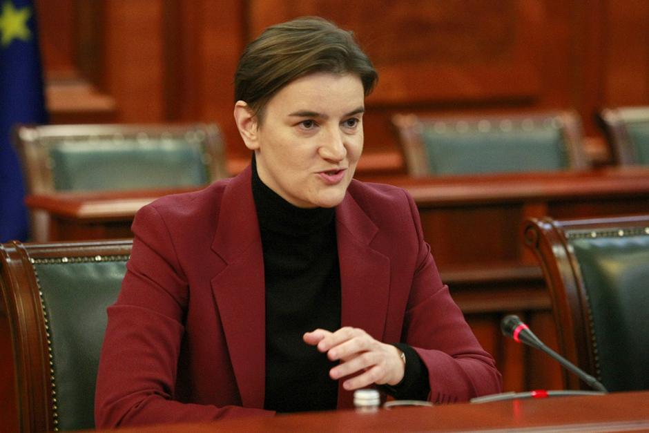 Ana Brnabić FOTO: ATA images