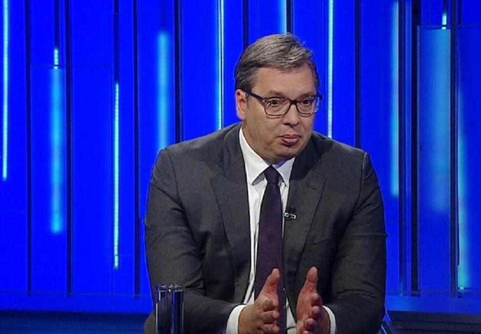 Aleksandar Vučić, Printscreen/TV B92