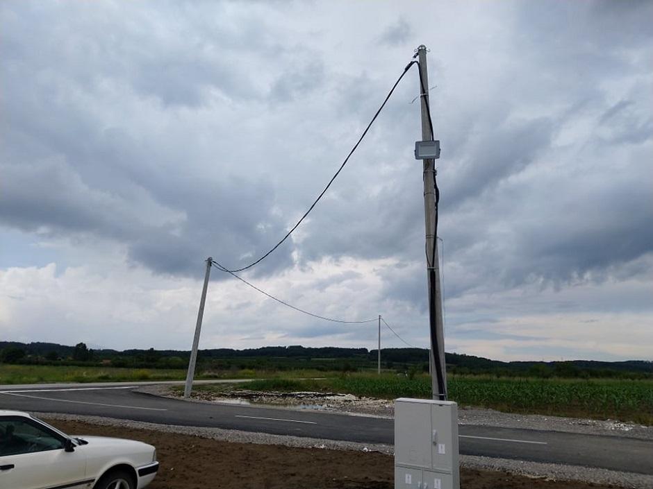 Trafo za struju u selu Pljakovo kod Kuršumlije FOTO: Direktno.rs