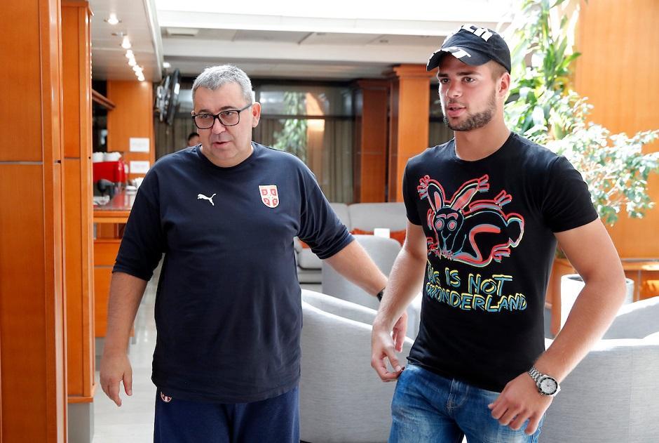 Nenad Milovanović i Aleksandar Stanković FOTO: Startsport