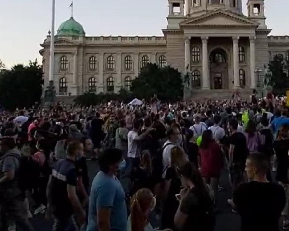 Protesti FOTO: Direktno.rs