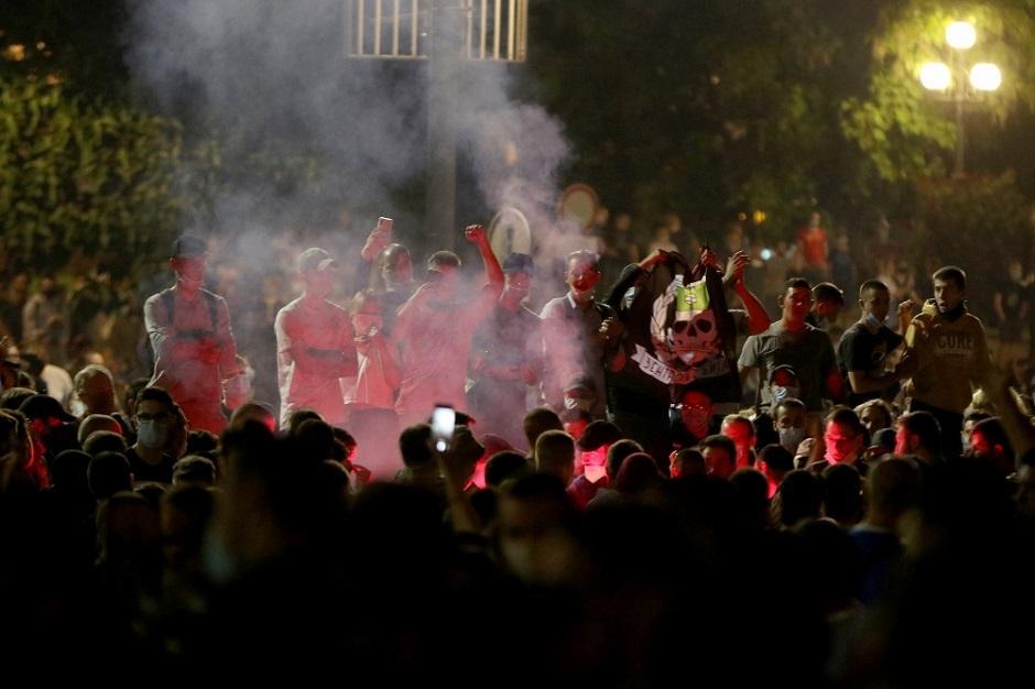 Protesti u Beogradu FOTO: ATA Images/Antonio Ahel