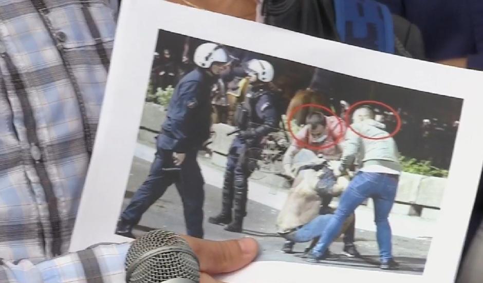 Opozicionari pokazali ko je učestvovao u batinanju naroda FOTO: Printscreen