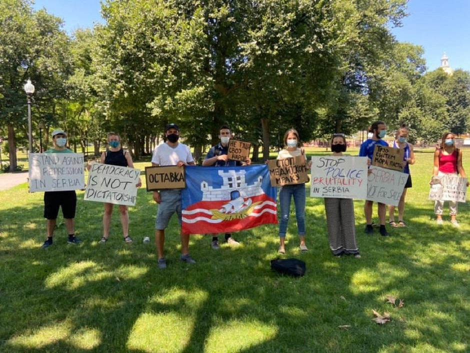 Protest u Bostonu, FOTO: Privatna arhiva