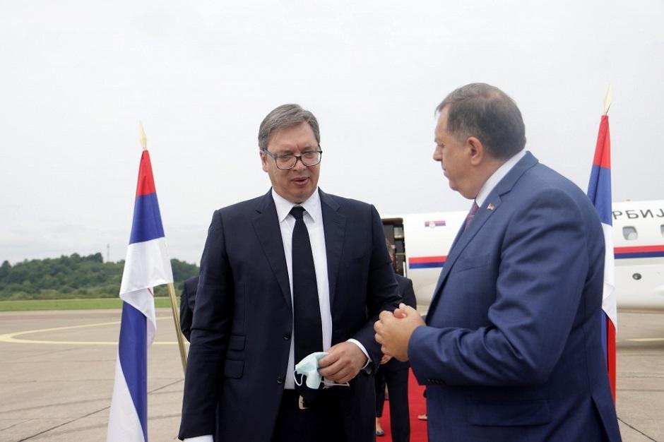 Isti princip vladavine: Vučić i Dodik