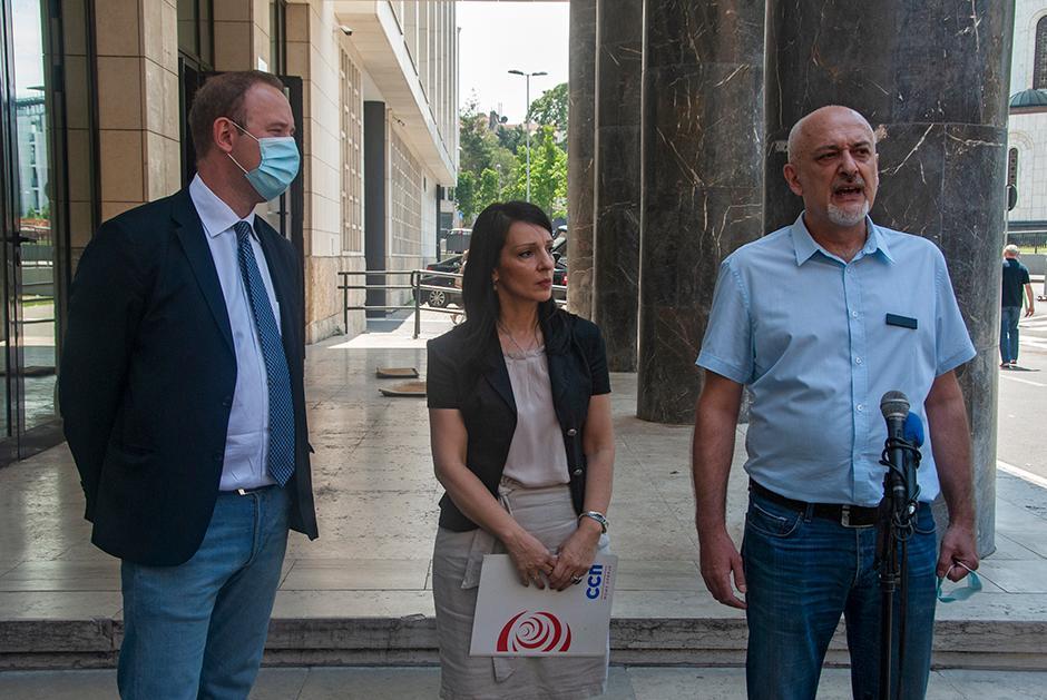 Vladimir Todorić, Marinika Tepić i Rade Panić FOTO: Milica Vučković
