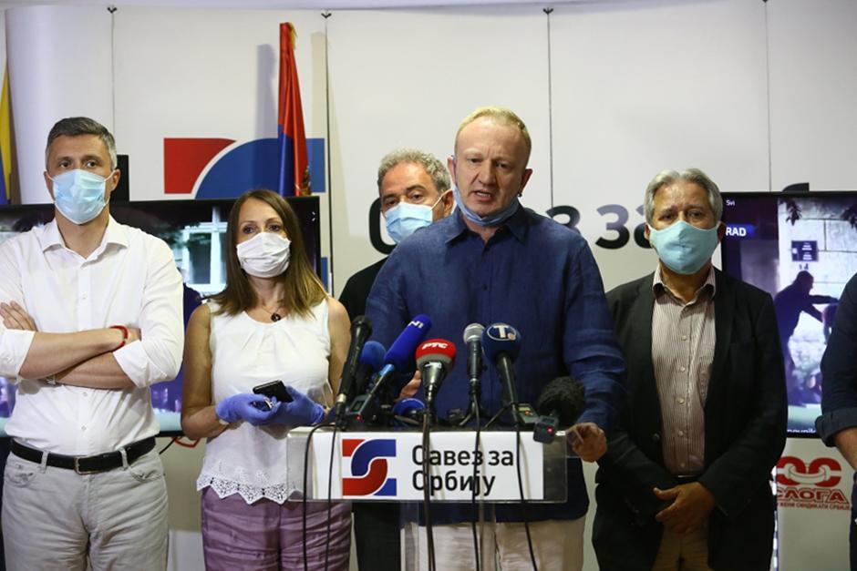 Savez za Srbiju FOTO: ATA Images/Antonio Ahel