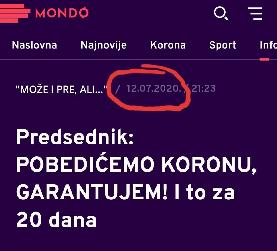 Laž Aleksandra Vučića u mediju koji on kontroliše