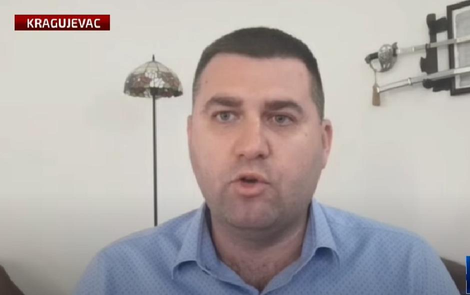Predsednik Vojnog sindikata Srbije Novica Antić FOTO: Printscreen/YouTube
