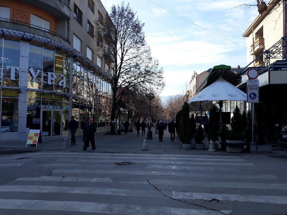 Pešačka zona u Prokuplju, FOTO: Direktno