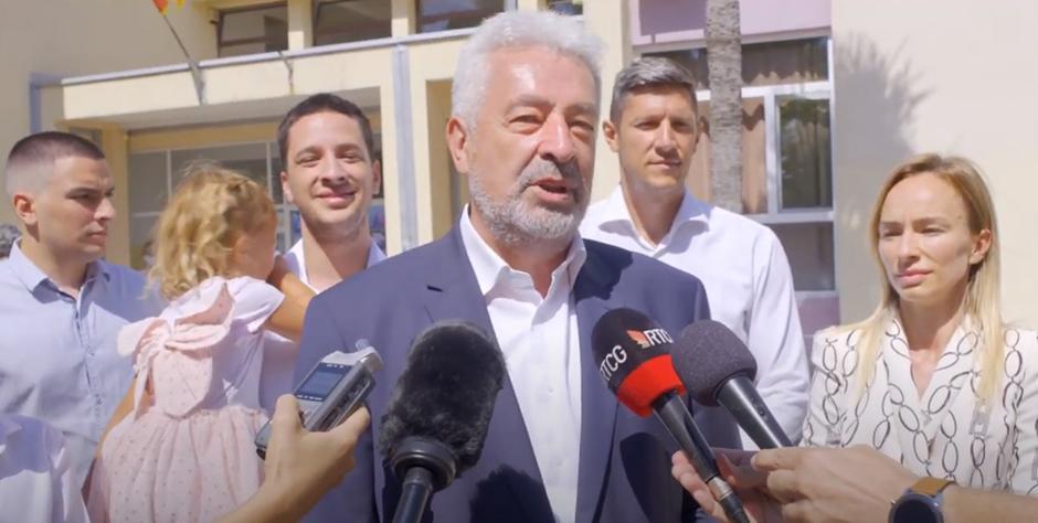 Zdravko Krivokapić predvodio opoziciju na izborima, FOTO: Printscreen