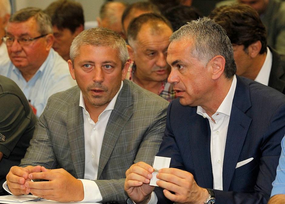 Kokeza i Terzić pred Vanrednu Skupštinu FSS FOTO: Starsport
