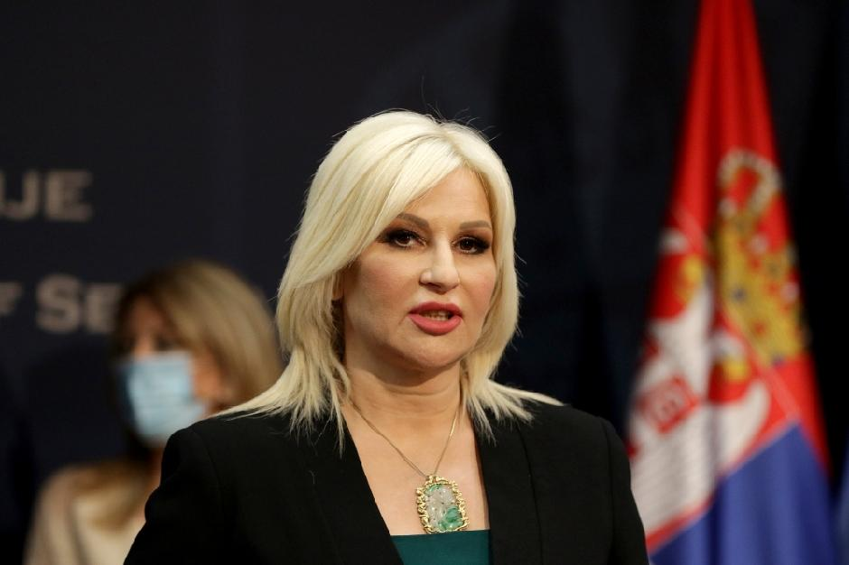 SNS Zorana Mihajlović FOTO: ATA Images/Antonio Ahel