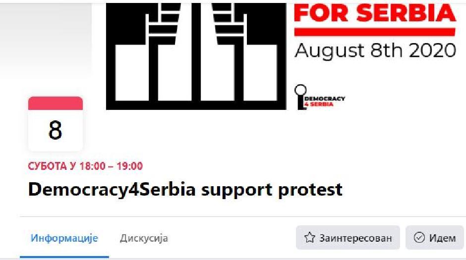 Protest širom sveta FOTO: Printscreen