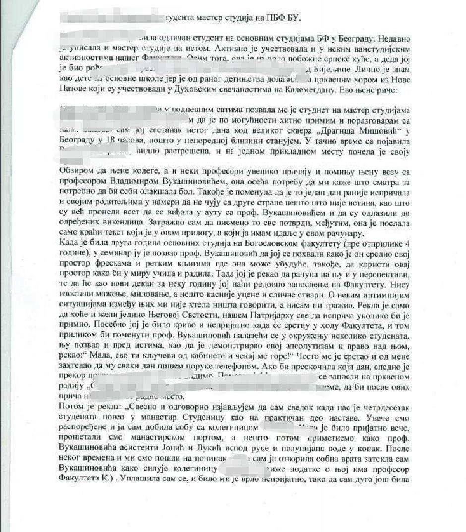 Svedočenje o Vladimiru Vukašinoviću FOTO: Printscreen