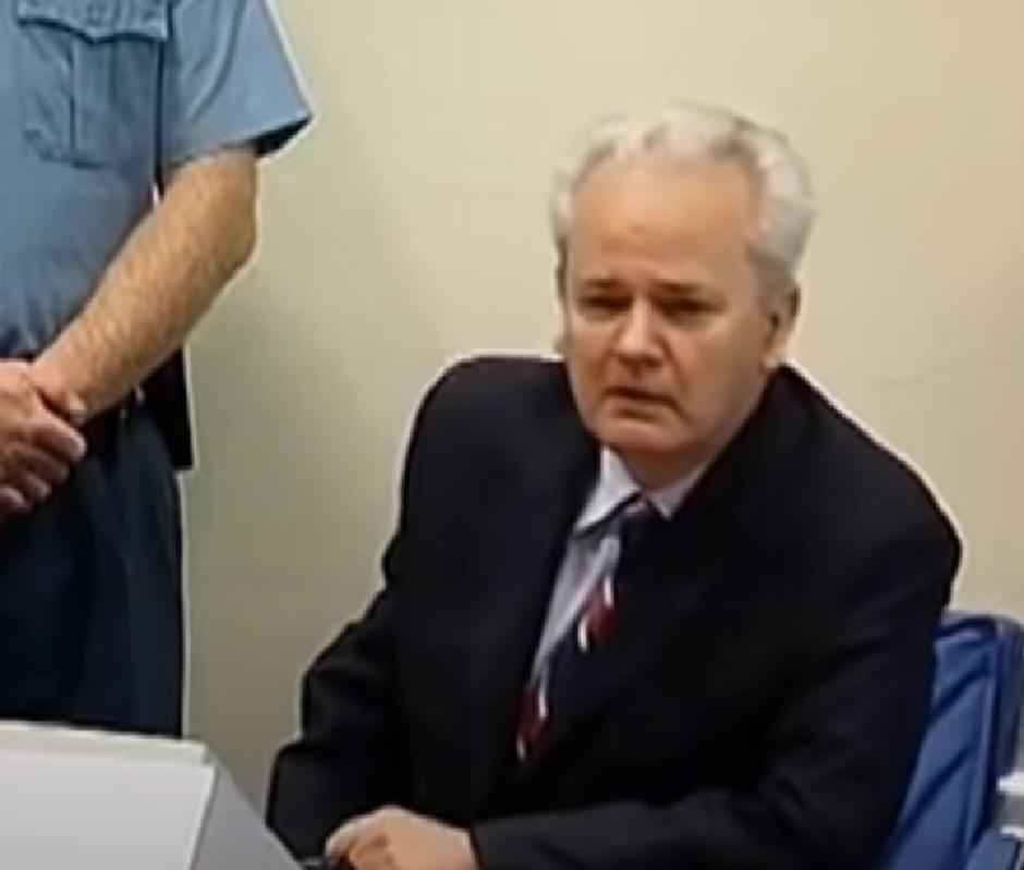 Slobodan Milošević, Printscreen/Youtube