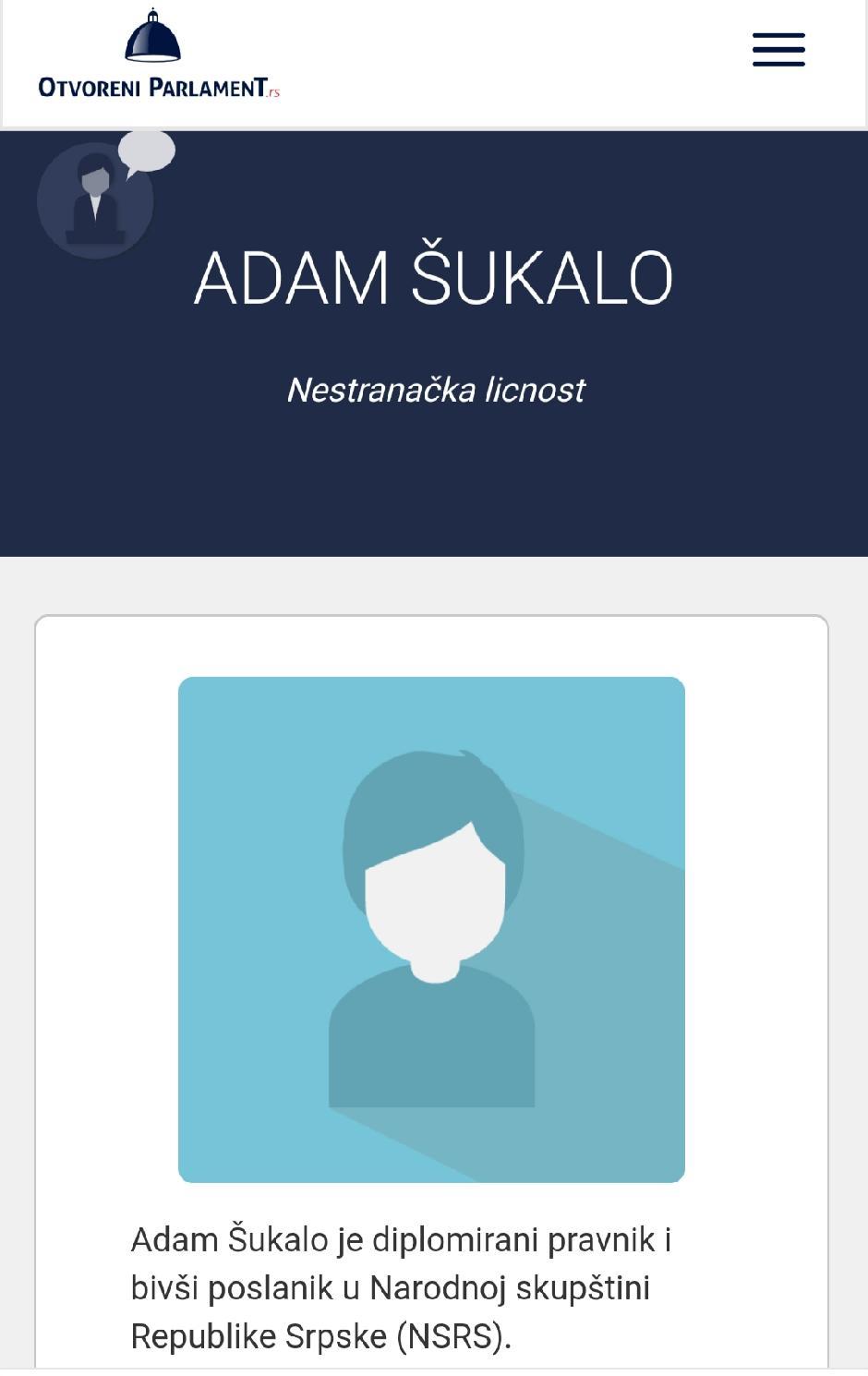 Adam Šukalo...