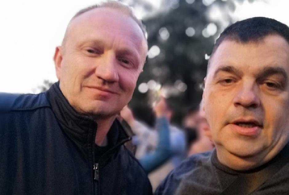 Bratislav Marković i Dragan Đilas
