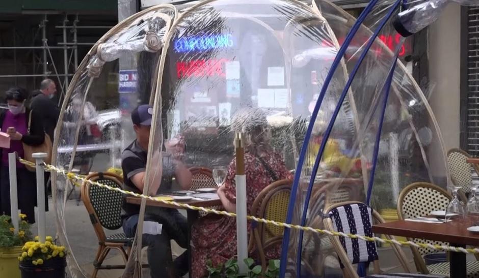 Plastični šatori u Njujorku