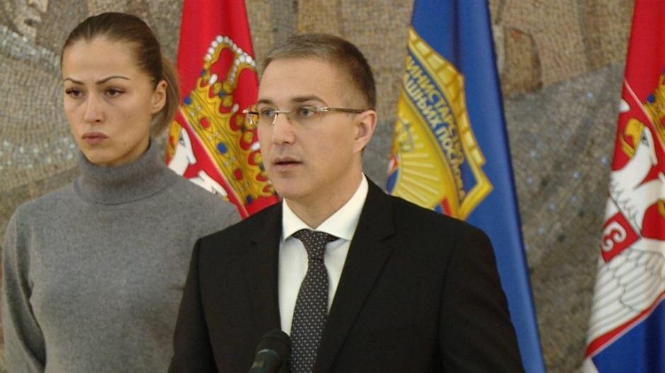 Diijana Hrkalović i Nebojša Stefanović FOTO: Printscreen