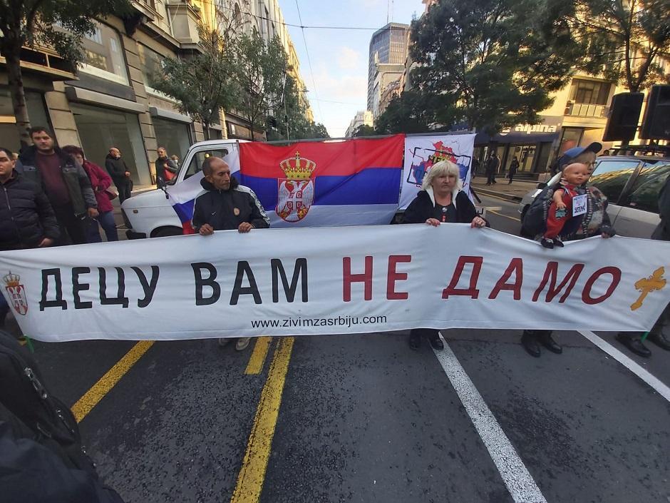 Jasna poruka roditelja vlastima FOTO: Milica Vučković