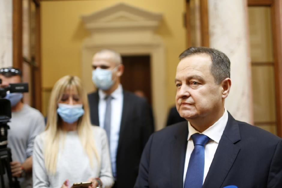 Ivica Dačić FOTO: ATA Images/Antonio Ahel