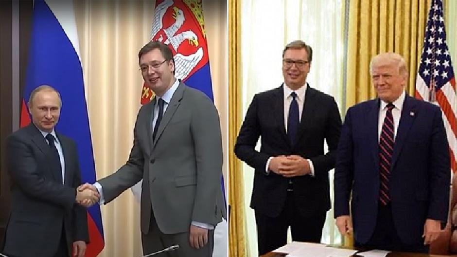 Vučić je brutalno precrtao Putina i priklonio se Trampu