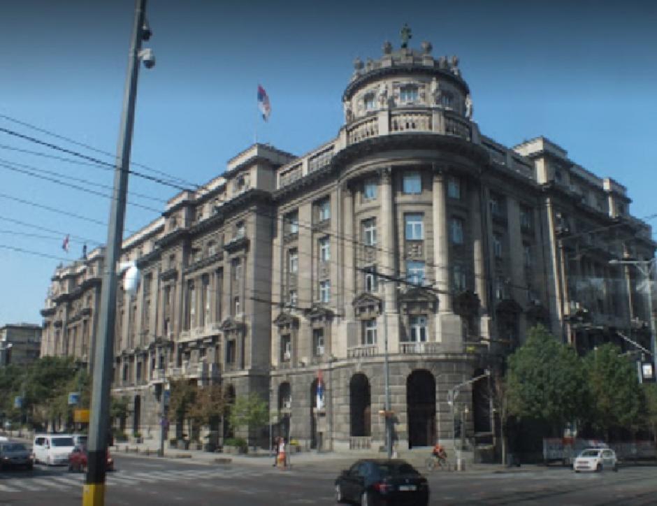 Ministarstvo spoljnih poslova, FOTO: Google street view