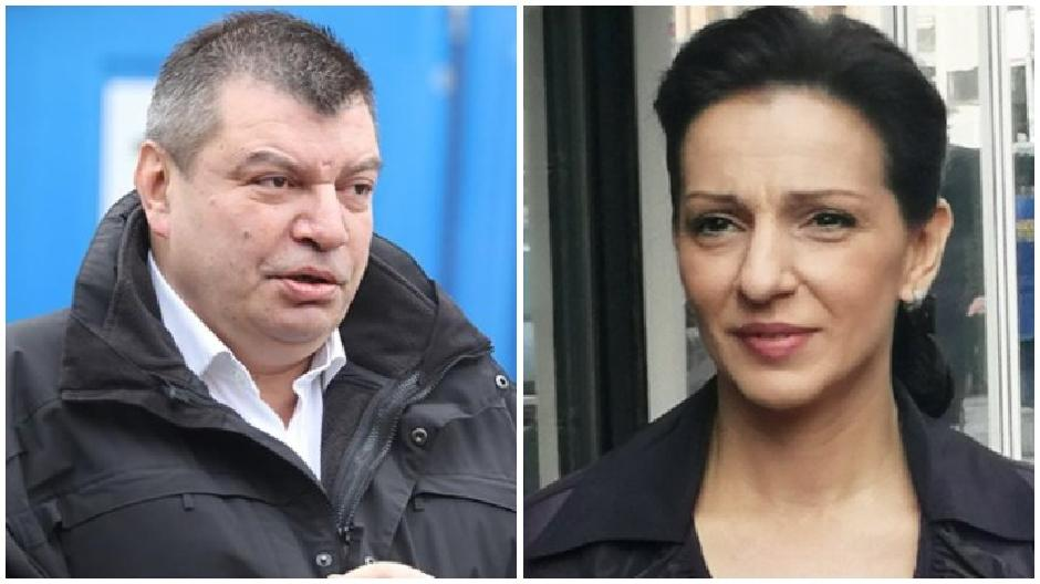 Dragan Grčić, direktor EPS, i Marinika Tepić, potpredsednica SSP