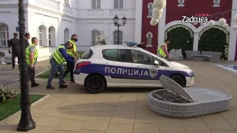 Policijsko vozilo u